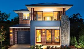 modern home design examples narrow lot home designs nsw house design plans