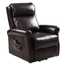 electric power lift recliner chair leather lazy sofa man