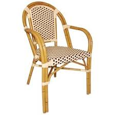 Heavy Duty Armchairs 4 X Heavy Duty Continental Bistro Wicker Armchairs 820mm Pack Of