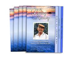 funeral programs printing funeral program printing services