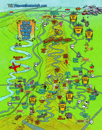 Virginia Wineries Map by River Hill Distillery