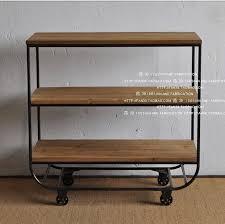 solid wood kitchen furniture 2018 vintage solid wood furniture wrought iron racks ingenuity