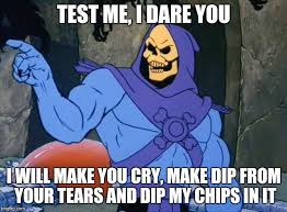 Meme Chip - chip dip of unfathomable sadness imgflip