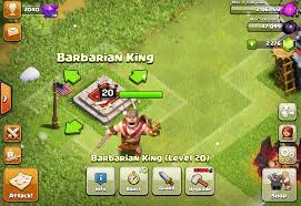 clash of clans archer queen clash of clans barbarian king stats levels and tips