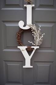 Christmas Decoration For Glass Door by Best 25 Christmas Front Doors Ideas On Pinterest Christmas