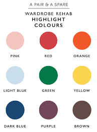 choose colour palette for your wardrobe a pair u0026 a spare