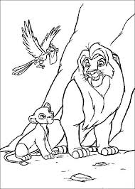 lion king coloring pages animals printable coloring pages