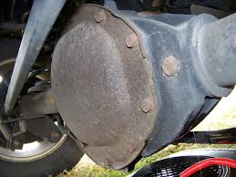 trailblazer rear differential fluid check drain fill youtube