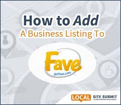 Americantowns Com Business Listing How To Add A Business Listing To Getfave While Getfave Gets Less