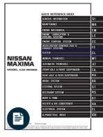 95 99 nissan maxima wire harness breakage