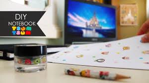 Desk Decor Ideas by Diy Notebook Tsum Tsum Disney Desk Decor Ideas Youtube