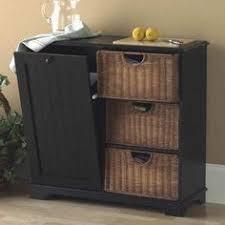Kitchen Trash Can Ideas Dirty Work Double Bin Countrydoor Com Kitchen Storage Ideas