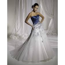 robe de mariã e robe de mariã e bleu et blanche 6 images robe de mariée