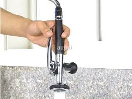 crystal cove oil rubbed bronze kitchen faucet w sprayer delta