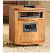 Gun Cabinet Heater Lifesmart Infrared Heater Oak 668641 Home Heaters At