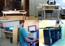 make yourself a standing desk this weekend lifehacker australia