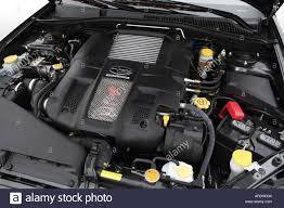subaru legacy engine 2007 subaru legacy 2 5 gt spec b in gray engine stock photo