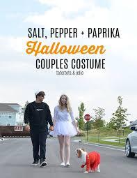Create Halloween Costume Couples Dog Halloween Costume Idea Salt Pepper Paprika