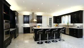 black kitchen island with stools bar stool these chrome and black leather kitchen bar stools