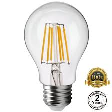 vintage dimmable filament led a19 bulb torchstar