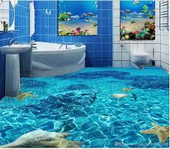 Classic Home Decor Classic Home Decor Seawater Toilet Bathroom Bedroom 3d Floor Floor