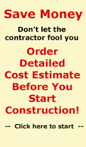 Low Cost House Plans With Estimate by Estimator Cost Estimators Construction Cost Estimators