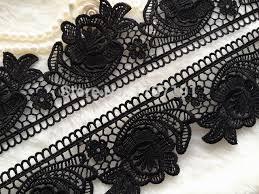 black lace trim sale black lace venice style embroidered lace trim for applique