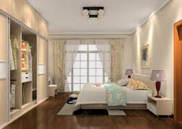 bedroom fascinating white furry rug and grey wooden wardrobe in