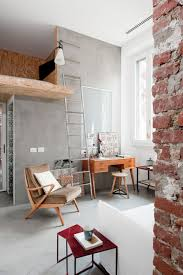 intriguing industrial loft apartment decor pictures combining