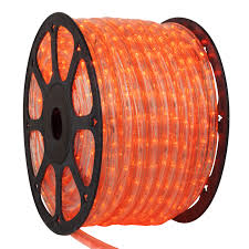 orange icicle lights halloween led lights 150 u0027 orange led light commercial spool 120
