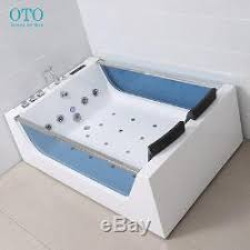 2 Person Spa Bathtub Shower Spa Jacuzzi Massage Corner 2 Person Double Bathtub Model 6181m