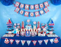 baby shower theme nautical theme baby shower ideas