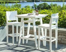 Patio Table Bar Height Patio Furniture Bar Height Chairs Mad American Recycled Outdoor