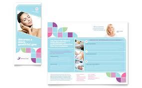 medical spa brochure template word u0026 publisher