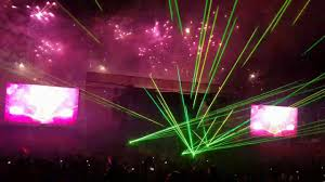 scout light show 2017 national boy scout jamboree closing firework and laser show