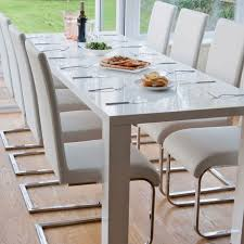 White Modern Dining Chair Awesome White Dining Room Set For Inspirations Home Design