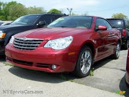hardtop convertible cars 2008 chrysler sebring limited hardtop convertible in inferno red