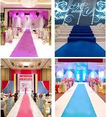 wedding decoration luxury wedding decoration wedding carpet runner church stage