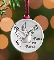 dove of peace pewter ornament pewter ornament collection