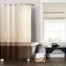 Classic Shower Curtain Lush Décor Fabric Shower Curtains Ebay