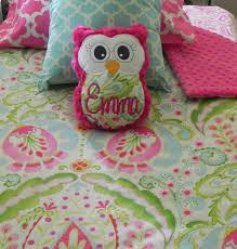 twin bed quilt set pink winnie pooh cartoon child kids