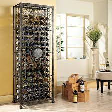 swedish 126 bottle wine rack wine enthusiast