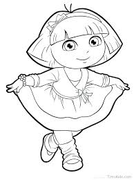 nick jr dora printable coloring pages his friends coloring pages free printable coloring pages printable