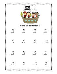 addition and subtraction within 20 worksheets worksheets