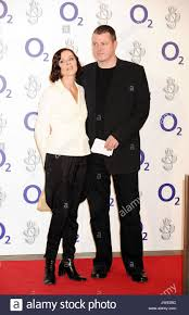 lisa stansfield and ian devaney at the o2 silver clef awards