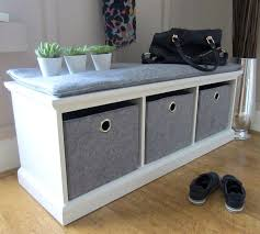 hallway storage bench hallway storage bench with cushion uk best images on benches shed