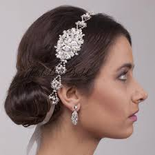 hair accessories for weddings clarissa bridal hair vine bohemian wedding headpiece