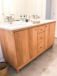 60 inch white kitchen base cabinet 60 modern white oak wood vanity sink what we make