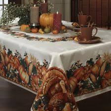 thanksgiving tablecloth ebay