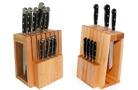 cool kitchen knives universal knife block also wooden knives holder with different size